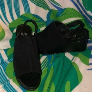 Eileen Fisher wedge (7.5 fits more like a 7)